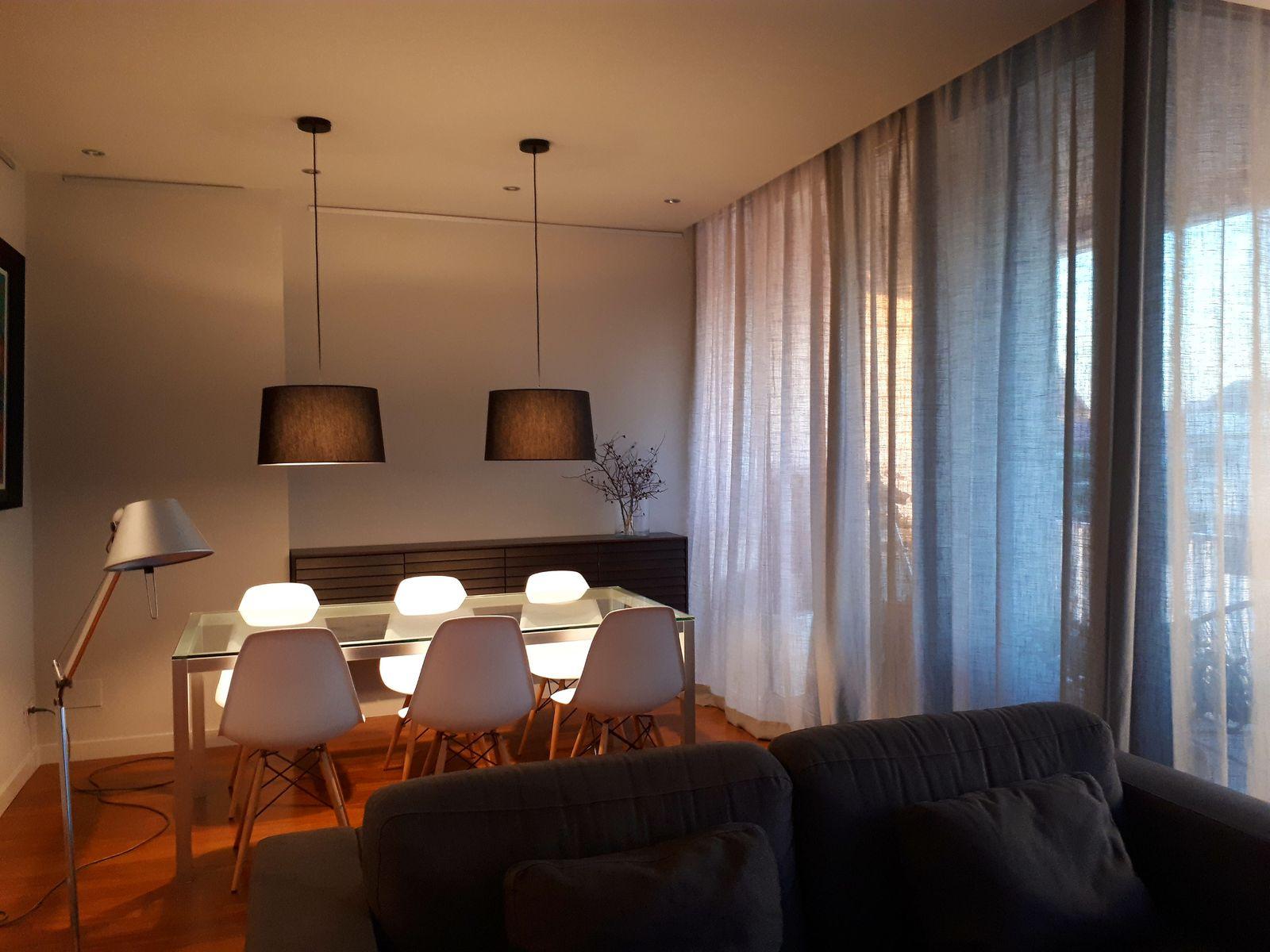 cortinas para sala con ventanales