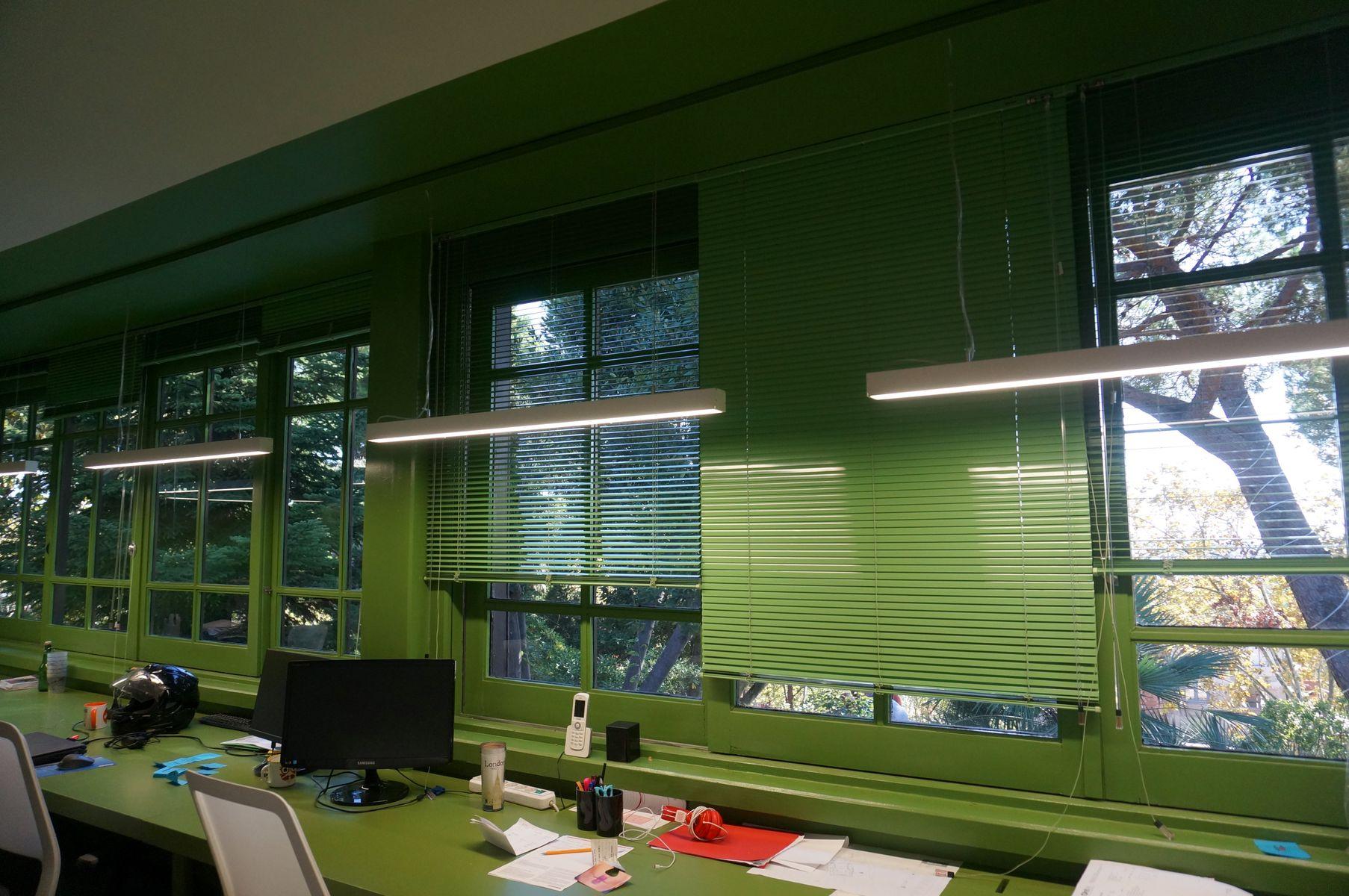 cortinas para oficinas