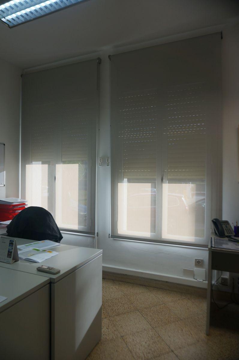 cortinas tecnicas para oficina